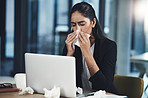 Flu in the workplace can cause significant reduction in productivity