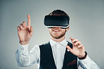 Immersed in a virtual business environment