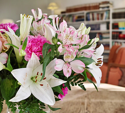 Buy stock photo Bouquet with different kind of flower
