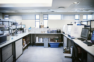 Buy stock photo Shot of the inside of a laboratory
