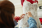 The home of custom-made wedding dresses!