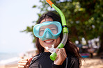 Snorkelling makes me smile