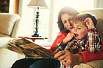 Reading to your grandchildren is a great way to bond