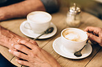 Two of life's greatest pleasures, love and coffee