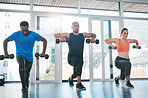 Working out with others makes it easy to stay motivated