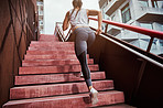 Taking the steps to increase her fitness
