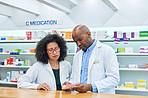 Running their pharmacy on teamwork and professionalism