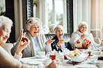 Laughter and friendship, important ingredients in the recipe of life