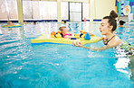 Babies who swim have better balance out of the pool