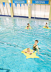 Swimming can benefit both your baby's strength and coordination