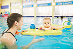 It's never too early or late to take swim lessons