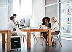 Staying productive to keep up their business performance