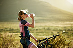 It's important for cyclist to stay hydrated