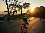 Riding off into sunset