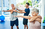 Keeping their muscles active as they age
