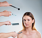 Different tools for different beauty treatments