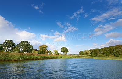 Buy stock photo A photo of a lake