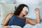 I sleep better with my eye mask on