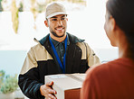 I'm happy to deliver your package