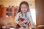 Baking is a fun way for kids to learn