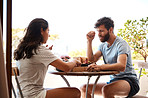 Be with the person you want to have breakfast with