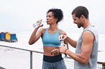 Ensure you drink enough water before, during and after exercising