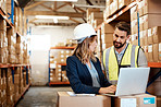 Managing a warehouse takes a solid strategy