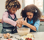 They love baking more than playing outside