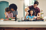 Families who cook together, enjoy their food even more