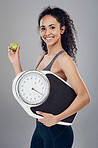 An apple a day keeps your weight desirable