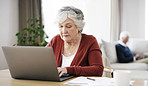 She's got online access to her retirement fund