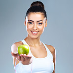 You wouldn't want to waste the golden benefits that apples provide