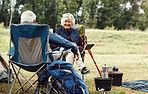 Going camping has become their job since they retired