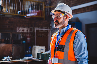 Buy stock photo Shot of building contractors working on a construction site