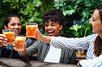 Here's a toast to never ending friendships!