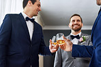 This is your last toast as a single man