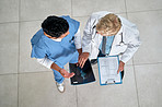 Analysing the patient's results in detail