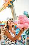 You can't go to a carnival without having cotton cndy