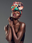 The undeniable beauty of a head wrap