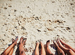 All is good when your feet touches the sand