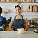 Serving the best coffee in town with a big smile