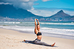 Becoming stronger and more flexible through yoga