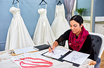 You can trust her to design the dress of your dreams