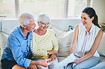 l'm helping them manage their finances better during their retirement