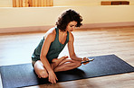 Getting yoga advice from one smart device