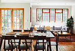 The bright cheer of natural light makes any room feel bigger