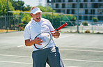 Tennis keeps me young at heart