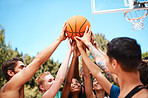 It takes a player to shoot a shot, but a team to win a game
