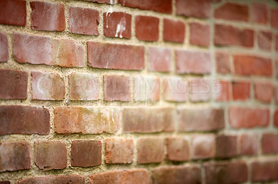 Buy stock photo Background and copy space - bricks