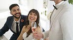 Who doesn't love a bit of wedding speech humour?